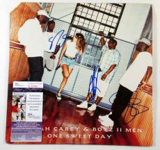 Boyz II Men Signed LP Record Album One Sweet Day w/ 3 JSA AUTOS