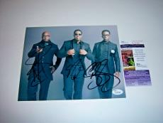Boyz To Men Wanya Morris,shawn Stockman,nathan Morris Jsa/coa Signed 8x10 Photo