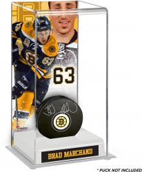 Brad Marchand Boston Bruins Deluxe Tall Hockey Puck Case
