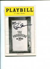 Brad Oscar The Producers Broadway Musical Play Rare Signed Autograph Playbill