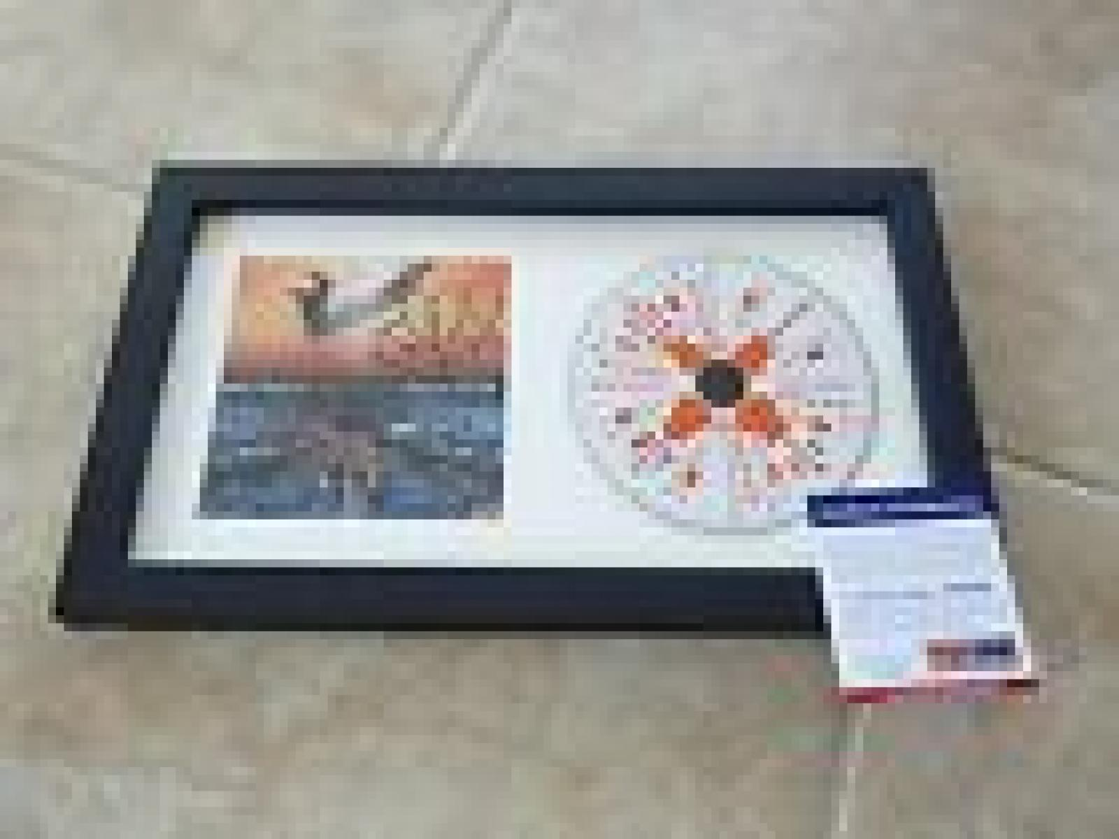 Brad Paisley Sexy Autographed Signed Wheelhouse Cd Framed Display