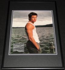 Brad Pitt 1998 Framed 12x18 Photo Display