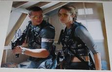Brad Pitt Angelina Jolie Dual Signed 11x14 Photo Autograph Mr And Mrs Smith Coa