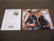 Brad Pitt Angelina Jolie Mr & Mrs Smith Signed 11x14 Promo Photo PSA Certified
