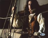 "Brad Pitt Autographed 8""x 10"" Interview with the Vampire On Ship Photograph - BAS COA"