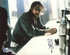 "Brad Pitt Autographed 8""x 10"" Kalifornia Diner Photograph - BAS COA"