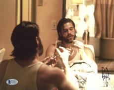 "Brad Pitt Autographed 8""x 10"" Kalifornia Holding Scissors Photograph - BAS COA"