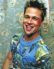Brad Pitt Autographed Fight Club 11x14 Photo Exact Video Proof P