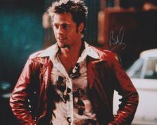 Brad Pitt Autographed FIGHT CLUB 8x10 Photo