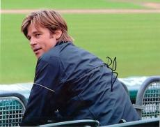 Brad Pitt Signed - Autographed MONEY BALL 8x10 Photo