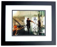 Brad Pitt Autographed MR and MRS SMITH 8x10 Photo BLACK CUSTOM FRAME