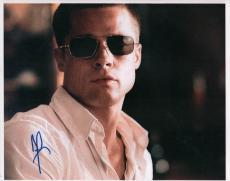 Brad Pitt Autographed Signed 11x14 Oceans 12 Photo AFTAL