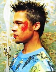 Brad Pitt Autographed Signed 11x14 Photo UACC RD COA PSA