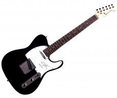 Brad Pitt Autographed Signed Tele Guitar AFTAL UACC RD COA