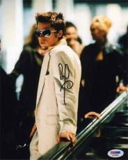 Brad Pitt Fight Club Autographed Signed 8x10 Photo Certified PSA/DNA AFTAL