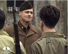 Brad Pitt Inglourious Basterds Autographed Signed 8x10 Photo Beckett BAS COA