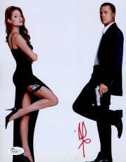 Brad Pitt Mr Mrs Smith Jsa Signed 8x10 Photo Authenticated Autograph