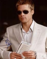 Brad Pitt Ocean's Eleven Signed 11x14 Photo Autographed Jsa #f25450