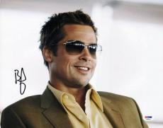 Brad Pitt Oceans Eleven Signed 11X14 Photo Autographed PSA/DNA #V20012
