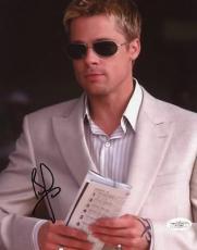 Brad Pitt Ocean's Eleven Signed 8x10 Photo Autograph Jsa #f17365