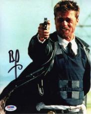 Brad Pitt Se7en Seven Autographed Signed 8x10 Photo Authentic PSA/DNA