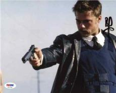 Brad Pitt Seven Se7en Autographed Signed 8x10 Photo Certified Authentic PSA/DNA