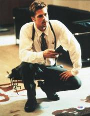 Brad Pitt Seven Signed 11X14 Photo Autographed PSA/DNA #U72166