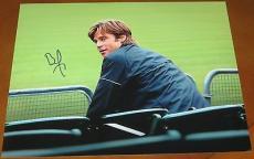 Brad Pitt Signed 11x14 Photo Authentic Autograph Moneyball Oceans Seven Coa B