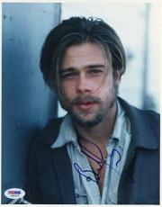 Brad Pitt Signed 8X10 Photo Autographed PSA/DNA #J00478