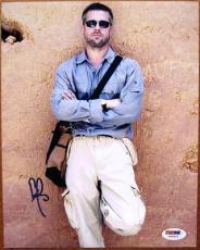 Brad Pitt signed 8x10 photo PSA/DNA autograph