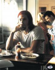 Brad Pitt Signed Authentic Autographed 11x14 Photo (PSA/DNA) #J03389