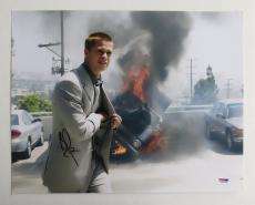Brad Pitt Signed Authentic Autographed 11x14 Photo (PSA/DNA) #J03395