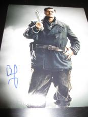 BRAD PITT SIGNED AUTOGRAPH 8x10 PHOTO INGLOURIOUS BASTERDS PROMO IN PERSON COA D
