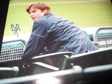 BRAD PITT SIGNED AUTOGRAPH 8x10 PHOTO MONEYBALL IN PERSON COA AUTO RARE NY C