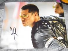 BRAD PITT SIGNED AUTOGRAPH 8x10 PHOTO MR AND MRS SMITH IN PERSON AUTO COA G