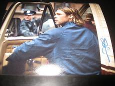 BRAD PITT SIGNED AUTOGRAPH 8x10 PHOTO WORLD WAR Z PROMO IN PERSON COA AUTO NY G