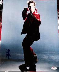 Brad Pitt Signed Autograph Fight Club Promo Poster 11x14 Photo Psa/dna Z97637
