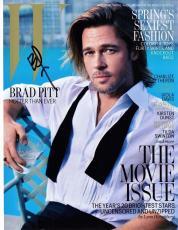 Brad Pitt Signed - Autographed Sexy 8x10 Photo
