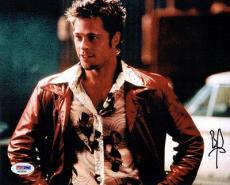 Brad Pitt Signed Fight Club Authentic Autographed 8x10 Photo PSA/DNA #AA58046