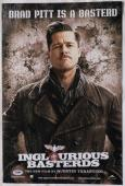 Brad Pitt Signed Inglourious Basterds Autographed 12x18 Photo PSA/DNA #AA21555