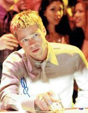 Brad Pitt Signed Oceans Eleven Autographed 11x14 Photo (PSA/DNA) #J03394