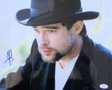 Brad Pitt Signed The Assassination Of Jesse James 11x14 Photo JSA