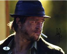 Brad Pitt Snatch Autographed Signed 8x10 Photo Beckett BAS COA