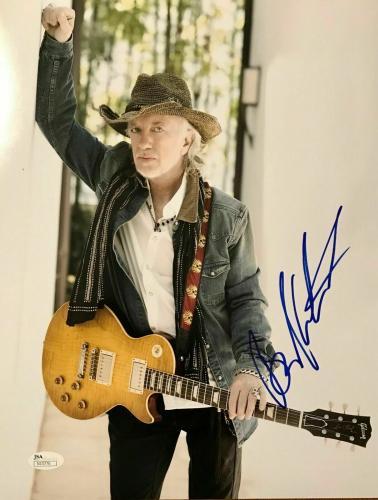 BRAD WHITFORD (Aerosmith) authentic signed 11x14 photo JSA #N15776