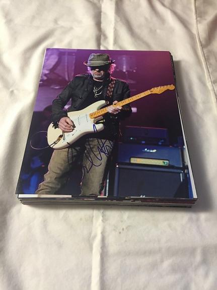 Brad Whitford Aerosmith Guitarist Signed Autographed 8x10 Photo W/coa 6