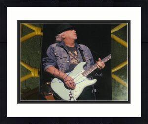 Brad Whitford Signed 8x10 Photo Aerosmith Rare