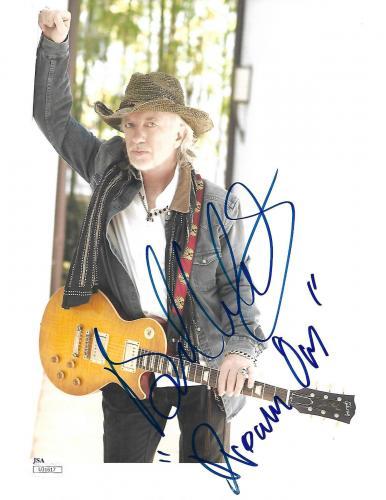 Brad Whitford Signed 8x10 Photo Autographed JSA - Aerosmith