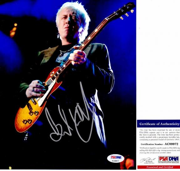 Brad Whitford Signed - Autographed AEROSMITH Guitarist 8x10 inch Photo with PSA/DNA Certificate of Authenticity (COA)