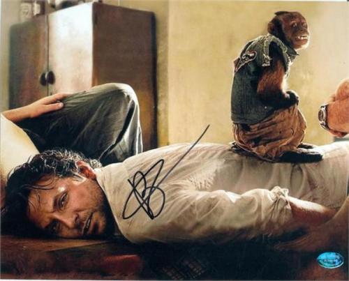 Bradley Cooper autographed 8x10 photo (Hangover 2 with Monkey) Image #SC1