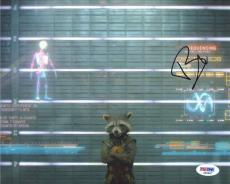 Bradley Cooper Rocket Guardians of Galaxy Autographed Signed 8x10 Photo PSA/DNA